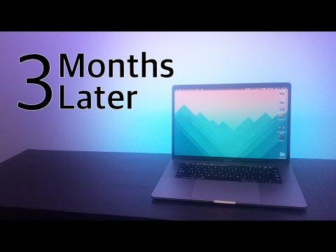 Living with the 15 inch MacBook Pro Touch Bar - 3 Months Later