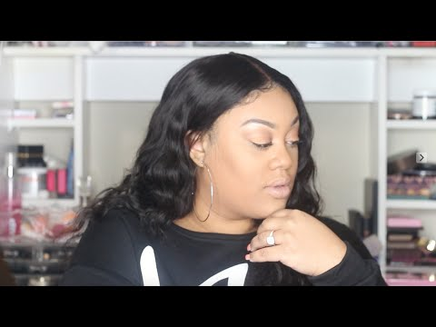 HOW I MAKE A FRONTAL WIG FAST AND EASY FEAT: KLAIYI HAIR