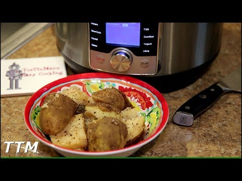 EASY Potatoes in Broth Instant Pot