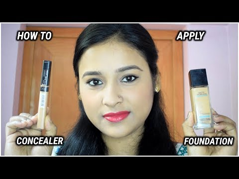 HOW TO CHOOSE & APPLY FOUNDATION,CONCEALER AND COMPACT