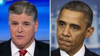 Hannity: Obama came in a crybaby and is leaving a crybaby