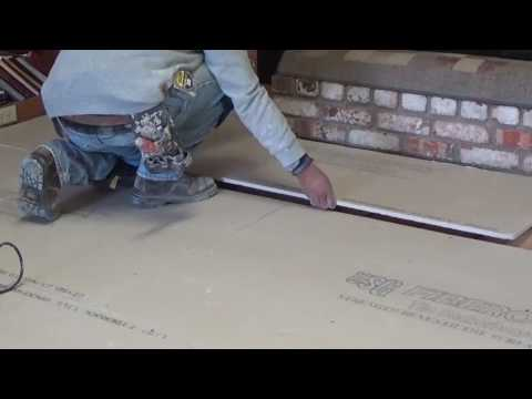 Laying Floor for Tile, How to prep the Floor