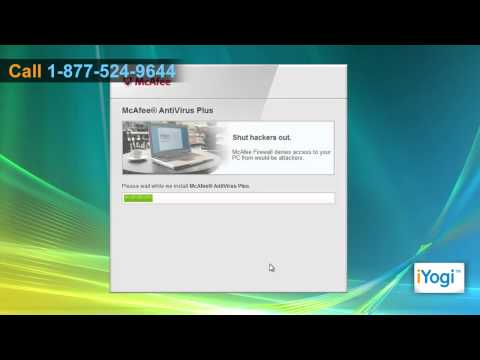 How to install McAfee® Antivirus in Windows® Vista