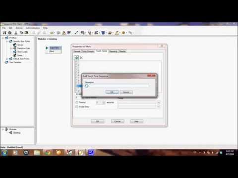 How to configure IP Office 500 Voicemail Pro Simple Greeting