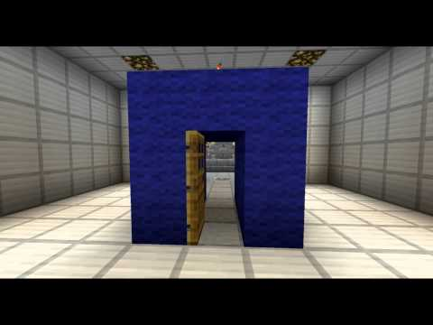 Working TARDIS In Minecraft - Bigger on the Inside!