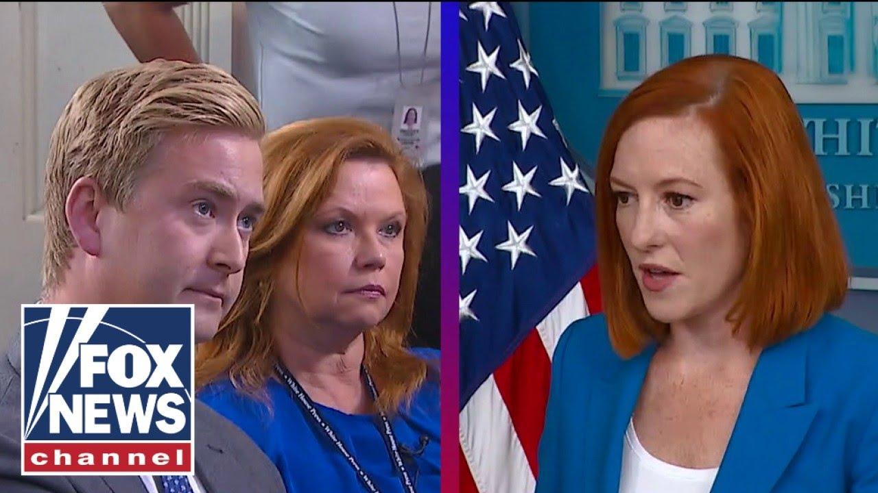 Peter Doocy presses Psaki on Biden's latest round of COVID mandates