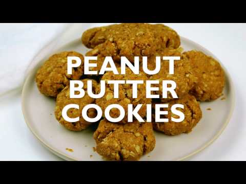 The Most Delicious (& Healthy!) Peanut Butter Cookies