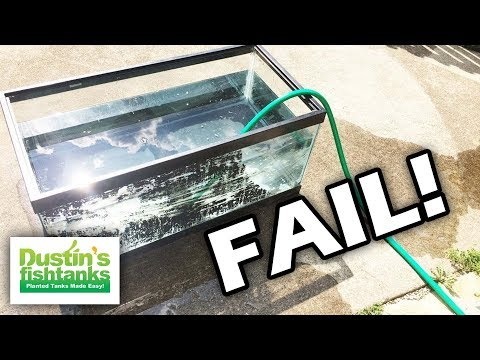 There is no trust restored...how NOT to seal an aquarium