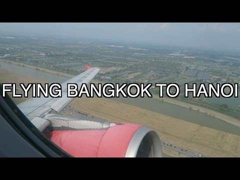 TRAVELLING FROM BANGKOK TO HANOI VLOG