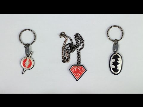 4# DIY how to make a cool Batman Keychain