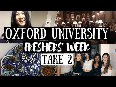 THE VLOGS ARE BACK | OXFORD UNIVERSITY FRESHERS' WEEK 2.0 | viola helen