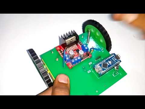 Control Arduino Car with TV remote | Infrared Remote Controlled Robot Car | Part 1