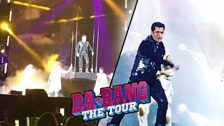 Salman Khan की GRAND ENTRY DA - BANGG TOUR 2017 | Hong Kong पर