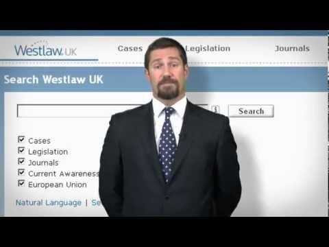 Westlaw UK Cases Training