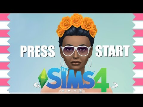 FIRST TIME PLAYING THE SIMS 4 🎮NO CC Create A Sim