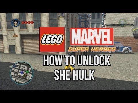 How to Unlock She Hulk - LEGO Marvel Super Heroes