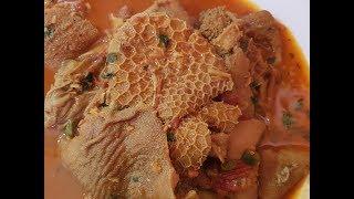 Spicy Mutton Ojri