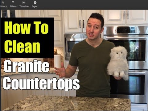 How To Clean Granite Countertops | Clean With Confidence