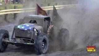 Mega Truck Racing at Redneck Mud Park - Animalistic Chris Libak