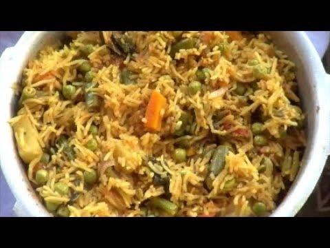20 മിനുട്ടിനുള്ളില് വെജിറ്റബിള് ബിരിയാണി  ഉണ്ടാക്കാം /  Pressure Cooker Vegetable Biriyani