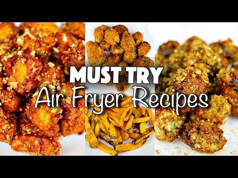 HEALTHY JUNK FOOD // MUST TRY AIR-FRYER RECIPES (VEGAN)