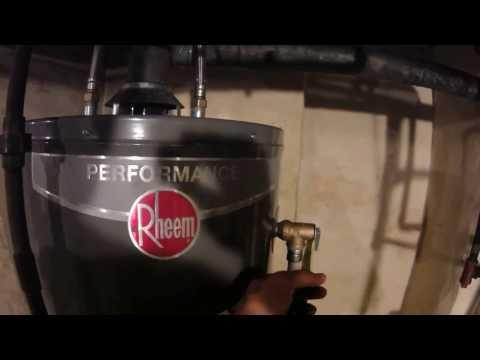 Hot Water Heater Installation Tips - Use SharkBites !!!