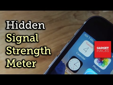 Add Network Strength to Your iPhone's Status Bar (Without Jailbreak) [How-To]