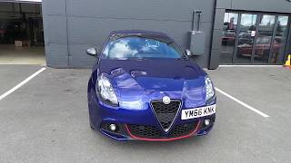 YM66KNK Alfa Romeo Giulietta 2.0 Jtdm-2 175ps Speciale 5dr Tct Auto