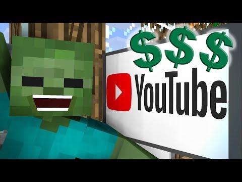 Monster School: YouTube - Minecraft Animation
