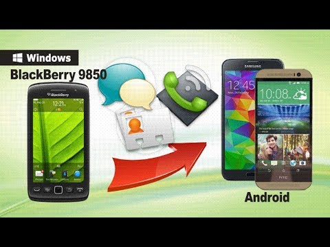 Sync BlackBerry Contacts to Android, Transfer SMS/Call Log from BlackBerry 9850 to Android Phone?