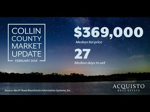 February 2018 Market Snapshot for Collin County Presented by Acquisto Real Estate