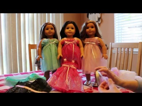 How to Make Easy Dresses for American Girl Dolls
