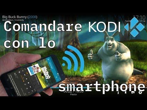 Trasformare lo smartphone in un telecomando per KODI