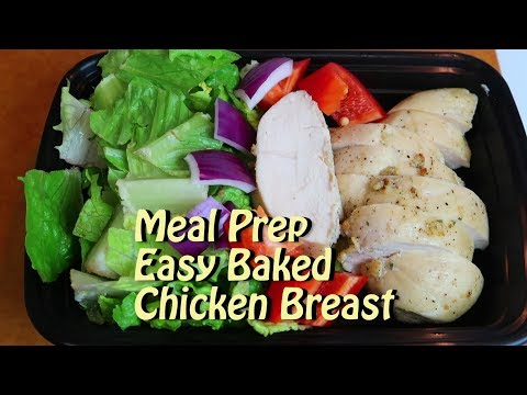 Meal Prep Easy Baked Chicken Breast Cooking Vlog 58