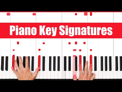 What Are Piano Key Signatures? - PGN Piano