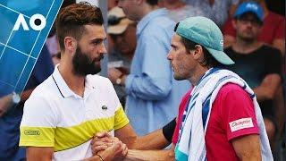 Haas v Paire match highlights (1R) | Australian Open 2017