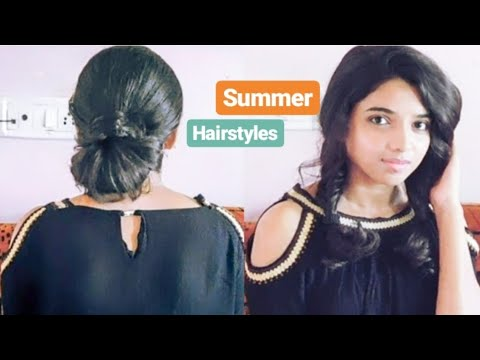 5 Easy + HEATLESS Summer Hairstyles | How To | Aditi Parekar