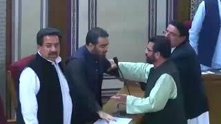 Ruckus erupts in Balochistan assembly.