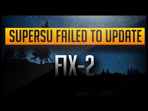 SuperSu Installation Failed | 100% Working [FIX-2]