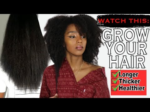 THIS IS WHY YOUR NATURAL HAIR ISN'T GROWING...