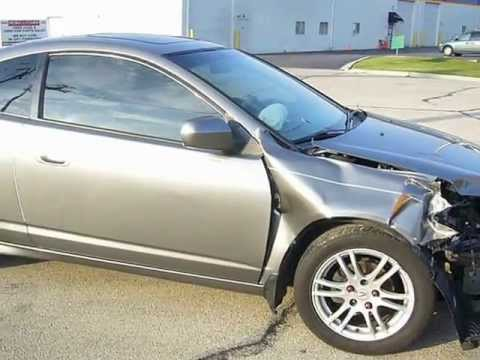 2005 Acura RSX 86K miles repairable salvage car for sale by Rebuiltcars