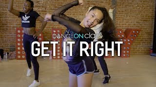 Diplo ft. MØ - Get It Right   Guy Groove Choreography   DanceOn Class