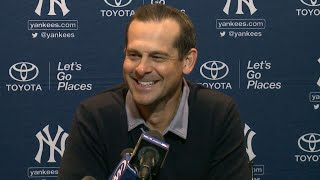 Aaron Boone on Yankees depth going into 2018