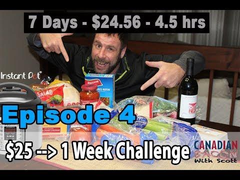 Instant Pot 1-Week $25 Challenge – Episode 4 of 4 - The Finale!