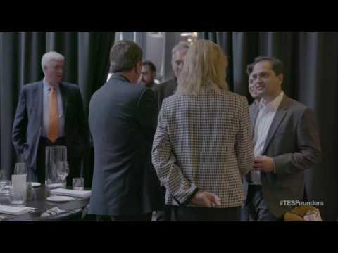The Entrepreneurship Society Founders Dinner