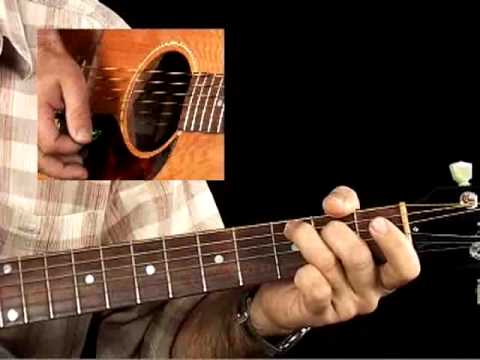 How to Play Acoustic Guitar - Lessons for Beginners - Strumming Chords Pt. 2