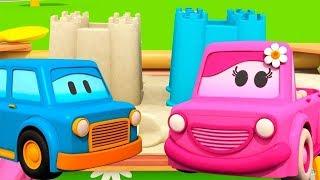 Schlaue Autos: wir spielen im Sandkasten🚘Zeichentrickfilm auf Deutsch #Spielzeugautos für Kinder