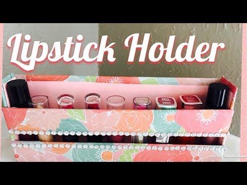 DIY Lipstick Holder| Organizer | Cheap and easy |