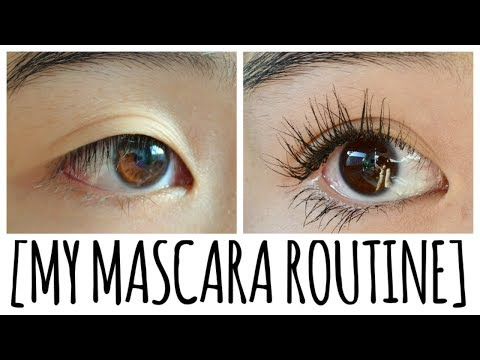 How to get FULL LASHES. MASCARA ROUTINE ~ tutorial for straight asian lashes