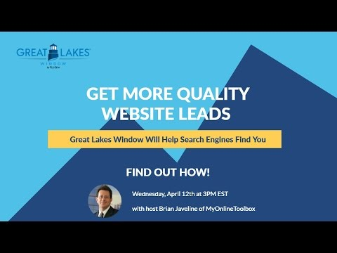 Get More Quality Website Leads – Great Lakes Will Help Search Engines Find You